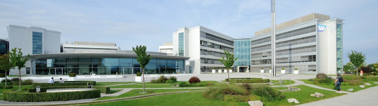 Der SAP Campus in Walldorf